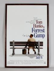 Forrest Gump – Tom Hanks Signed 28.5 x 42″ Movie Poster- JSA Full LOA