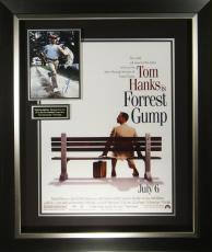 Forrest Gump Tom Hanks Signed Poster Framed