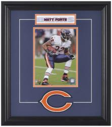 Chicago Bears Matt Forte Framed Photo and Plate - Mounted Memories