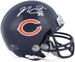 Chicago Bears Matt Forte Autographed Riddell Mini Helmet