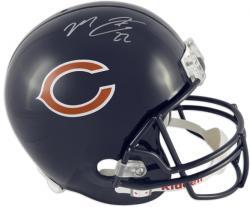 Matt Forte Chicago Bears Autographed Riddell Replica Helmet