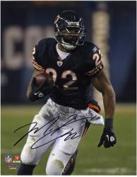 "Matt Forte Chicago Bears Autographed 8"" x 10"" Ball in Right Hand Photograph"