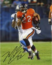 Matt Forte Signed Bears 8x10 Photo