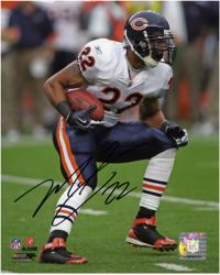 "Matt Forte Chicago Bears Autographed 8"" x 10"" White Uniform Photograph"