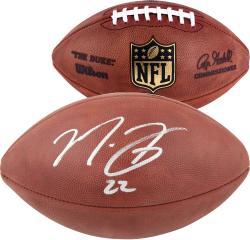 Matt Forte Chicago Bears Autographed Duke Pro Football
