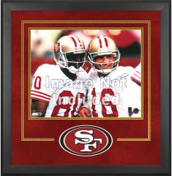 San Francisco 49ers Deluxe 16'' x 20'' Horizontal Photograph Frame with Team Logo - Mounted Memories