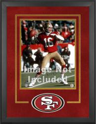San Francisco 49ers Deluxe 16'' x 20'' Vertical Photograph Frame with Team Logo - Mounted Memories