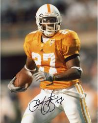 Arian Foster Autographed Tennessee 8x10 Photo