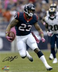 "Arian Foster Houston Texans Autographed 16"" x 20"" vs. St. Louis Rams Photograph"