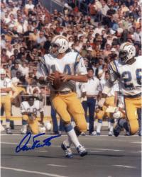 Dan Fouts Autographed Chargers 8x10 Photo