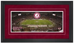 Bryant-Denny Stadium Alabama Crimson Tide Gameday Framed Panoramic - Mounted Memories