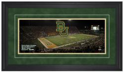 Floyd Casey Stadium Baylor Bears Gameday Framed Panoramic - Mounted Memories