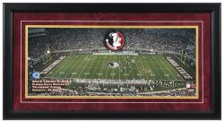 Doak Campbell Stadium Florida State Seminoles Gameday Framed Panoramic - Mounted Memories