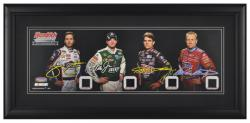 Hendrick Motorsports 25th Anniversary Panoramic with Piece of Race-Used Tires - Mounted Memories
