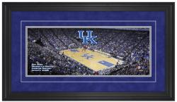 Rupp Arena Kentucky Wildcats Gameday Framed Panoramic - Mounted Memories
