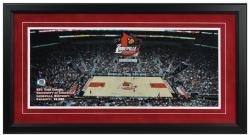KFC Yum Center Louisville Cardinals Gameday Framed Panoramic - Mounted Memories
