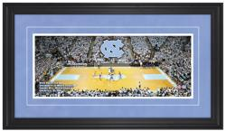 Dean Smith Center North Carolina Tar Heels Gameday Framed Panoramic