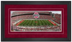 Ohio Stadium Ohio State Buckeyes Gameday Framed Panoramic - Mounted Memories
