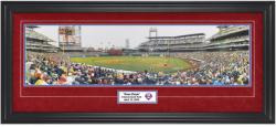 Philadelphia Phillies 1st Pitch at Citizens Bank Park Framed Unsigned Panoramic Photograph with Suede Matte
