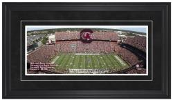 Williams-Brice Stadium South Carolina Gamecocks Gameday Framed Panoramic - Mounted Memories