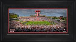 Jones AT&T Stadium Texas Tech Red Raiders Gameday Framed Panoramic