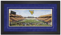 Mountaineer Field at Milan Puskar Stadium West Virginia Mountaineers Gameday Framed Panoramic - Mounted Memories