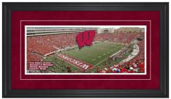 Camp Randall Stadium Wisconsin Badgers Gameday Framed Panoramic - Mounted Memories