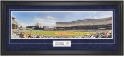 New York Yankees The Stadium Framed Unsigned Panoramic Photograph with Suede Matte - Mounted Memories