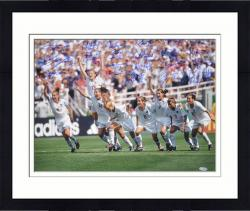 "Framed 1999 USA Women's Soccer Team Autographed 16"" x 20"" Photograph"