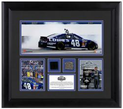 Johnson, Jimmie Framed (2013 Daytona 500)3-photos/track/tire