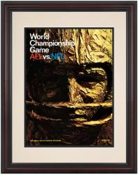 """1967 Packers vs Chiefs 8.5"""" x 11"""" Framed Super Bowl I Program"""