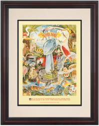 "1984 Raiders vs Redskins 8.5"" x 11"" Framed Super Bowl XVIII Program"