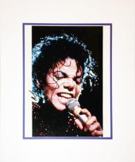 Framed 8x10 Photograph - Autographed by Michael Jackson