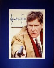 Framed 8x10 Photograph The Fugitive - Autographed by Harrison Ford