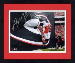 Framed Aaron Murray Georgia Bulldogs Autographed 8'' x 10'' Entrance Photograph
