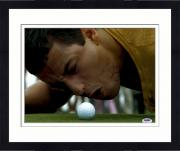 "Framed Adam Sandler Autographed 11"" x 14"" Happy Gilmore Yelling at Ball Photograph - PSA/DNA"