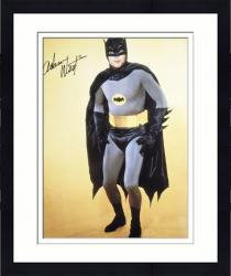 "Framed Adam West Autographed 16"" x 20"" Batman Photograph"