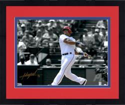 "Framed Adrian Beltre Texas Rangers Autographed 11"" x 14"" Spotlight Photograph"