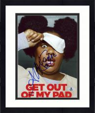 "Framed Adrienne Moore Autographed 8"" x 10"" Orange is The New Black Get Out of My Pad Photograph - Beckett COA"
