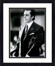 """Framed Al Pacino Autographed 11"""" x 14"""" Scent Of A Woman - Wearing Suit Photograph - Beckett COA"""