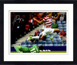 "Framed Alex Morgan Team USA Autographed 16"" x 20"" In Air Photograph"