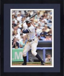 "Framed Alex Rodriguez New York Yankees Autographed 16"" x 20"" Batting Photograph"