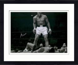 Framed Muhammed Ali Autographed 20x24 Photo