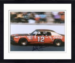 Framed ALLISON, BOBBY AUTO (COCA COLA/IN CAR) 8X10 PHOTO - Mounted Memories