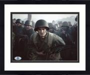 "Framed Andrew Garfield Autographed 8"" x 10"" Hacksaw Ridge Photograph - Beckett COA"