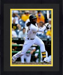 "Framed Andrew McCutchen Pittsburgh Pirates Autographed 16"" x 20"" White Jersey Batting Photograph"