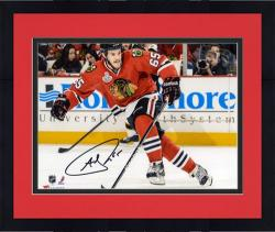 "Framed Andrew Shaw Chicago Blackhawks 2013 Stanley Cup Final Champions Autographed 8"" x 10"" Photograph"