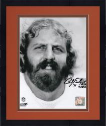 "Framed Andy Frederick Chicago Bears Autographed 8"" x 10"" Face Shot Photograph with SB XX Champs Inscription"
