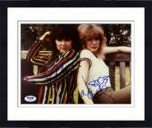 "Framed Ann Wilson & Nancy Wilson Autographed 8""x 10"" Heart Sitting on Park Bench Photograph - PSA/DNA COA"