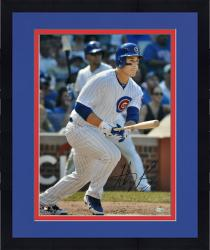 "Framed Anthony Rizzo Chicago Cubs Autographed 16"" x 20"" Stance Photograph"